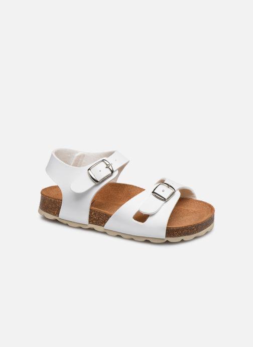 Sandales et nu-pieds I Love Shoes BORICIA Blanc vue détail/paire