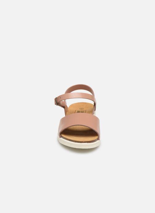 Sandales et nu-pieds I Love Shoes BOSSIL LEATHER Rose vue portées chaussures