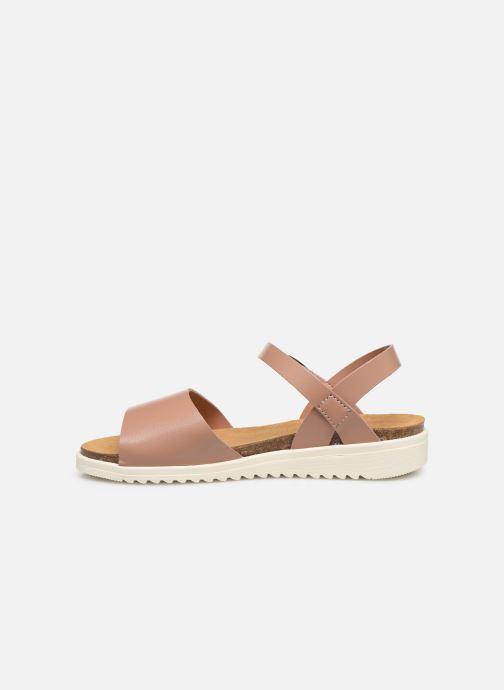 Sandalias I Love Shoes BOSSIL LEATHER Rosa vista de frente
