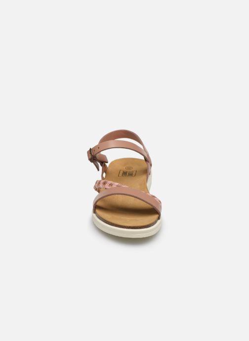 Sandales et nu-pieds I Love Shoes BOTRESS LEATHER Rose vue portées chaussures