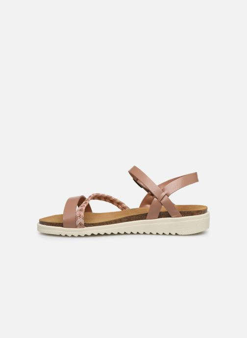 Sandales et nu-pieds I Love Shoes BOTRESS LEATHER Rose vue face