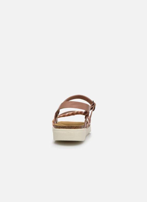Sandales et nu-pieds I Love Shoes BOTRESS LEATHER Rose vue droite
