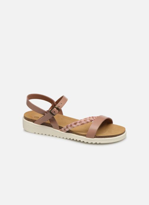 Sandalias I Love Shoes BOTRESS LEATHER Rosa vista de detalle / par