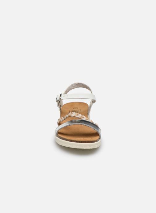 Sandales et nu-pieds I Love Shoes BOTRESS LEATHER Blanc vue portées chaussures