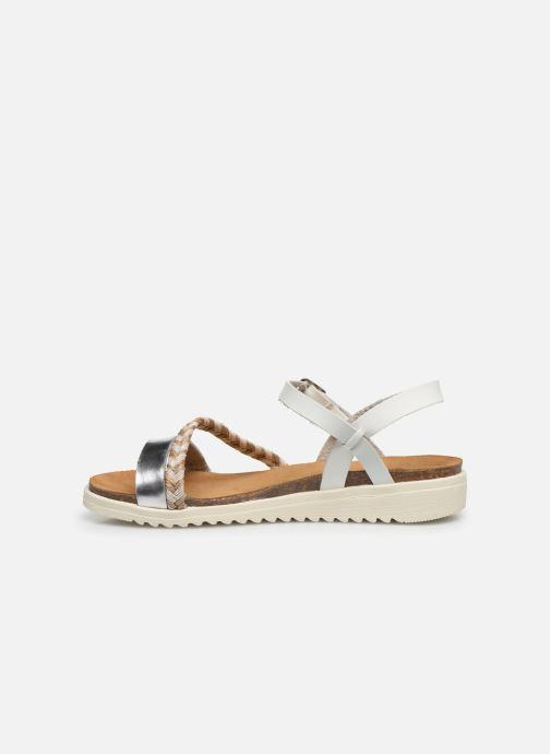 Sandales et nu-pieds I Love Shoes BOTRESS LEATHER Blanc vue face