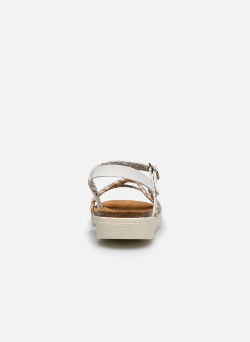 Sandales et nu-pieds I Love Shoes BOTRESS LEATHER Blanc vue droite