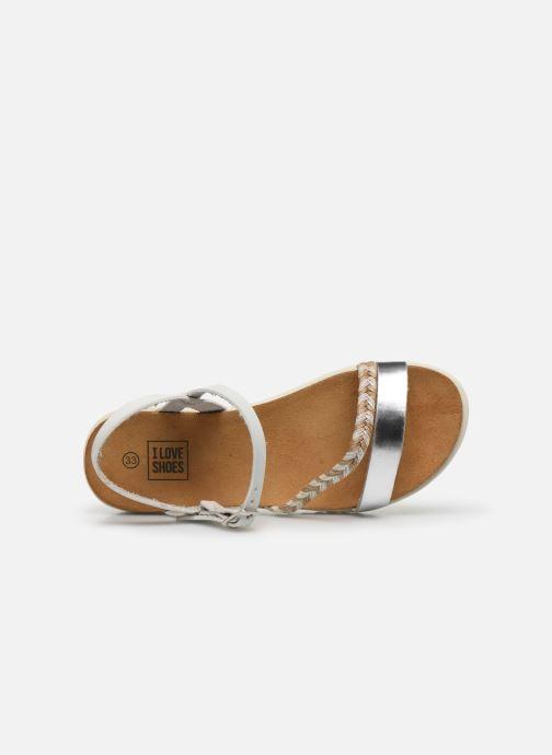 Sandales et nu-pieds I Love Shoes BOTRESS LEATHER Blanc vue gauche