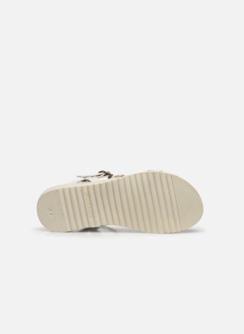 Sandales et nu-pieds I Love Shoes BOTRESS LEATHER Blanc vue haut