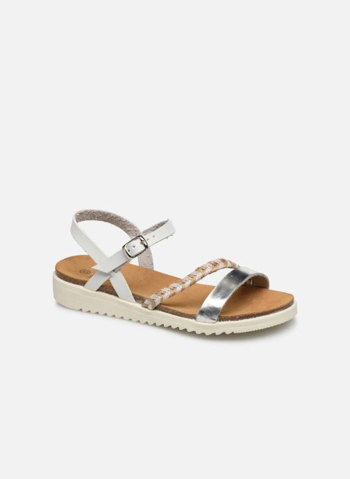 Sandalias I Love Shoes BOTRESS LEATHER Blanco vista de detalle / par