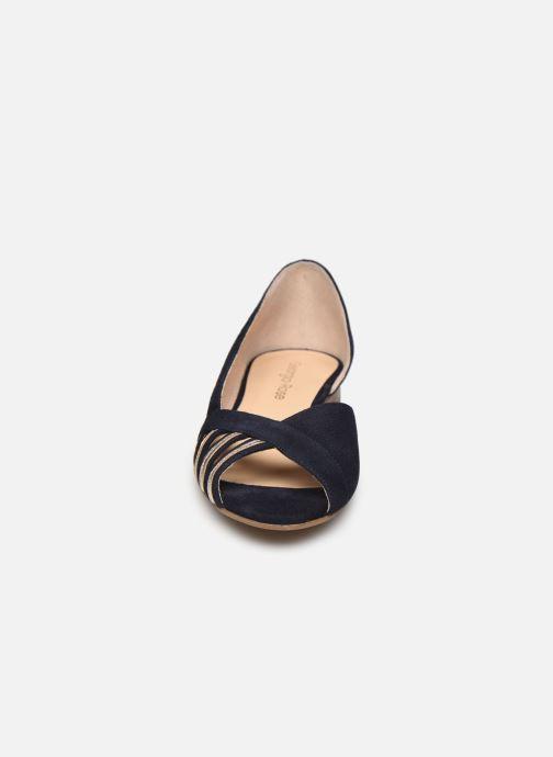 Ballerines Georgia Rose Luminate Bleu vue portées chaussures