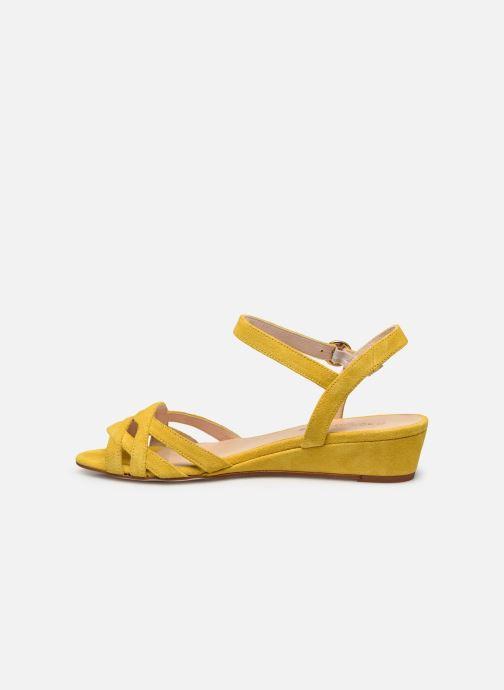 Sandales et nu-pieds Georgia Rose Latira Jaune vue face