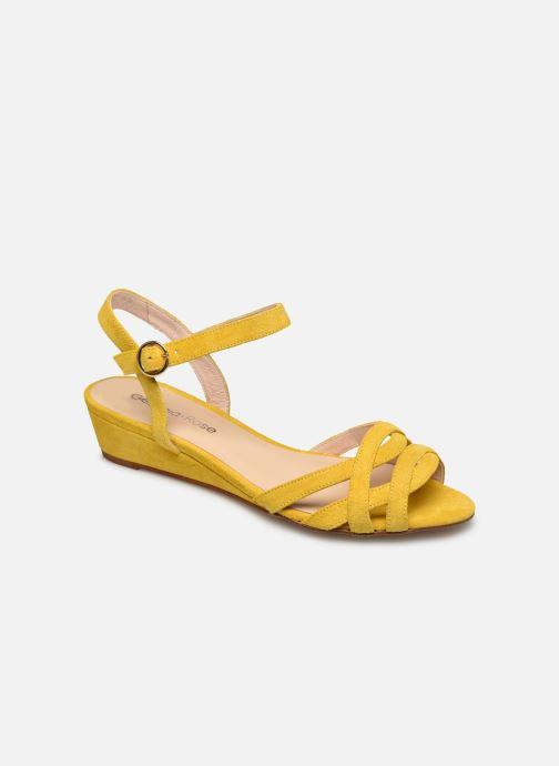 Sandales et nu-pieds Georgia Rose Latira Jaune vue détail/paire