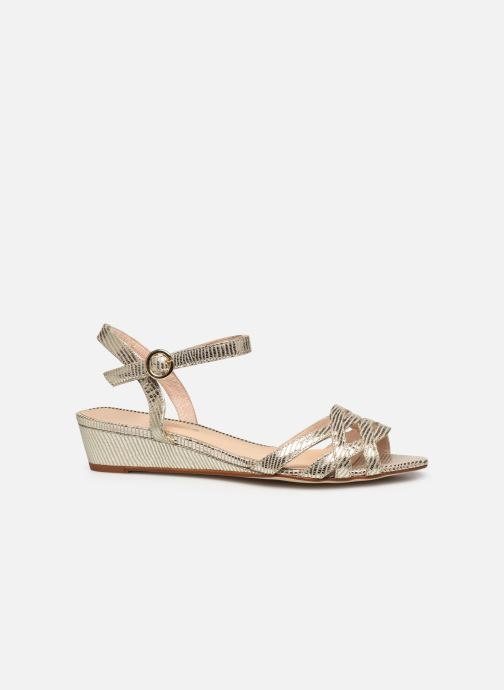 Sandales et nu-pieds Georgia Rose Latira Or et bronze vue derrière
