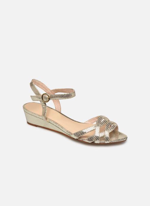 Sandales et nu-pieds Georgia Rose Latira Or et bronze vue détail/paire