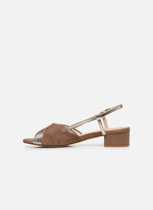 Sandales et nu-pieds Georgia Rose Livila Beige vue face