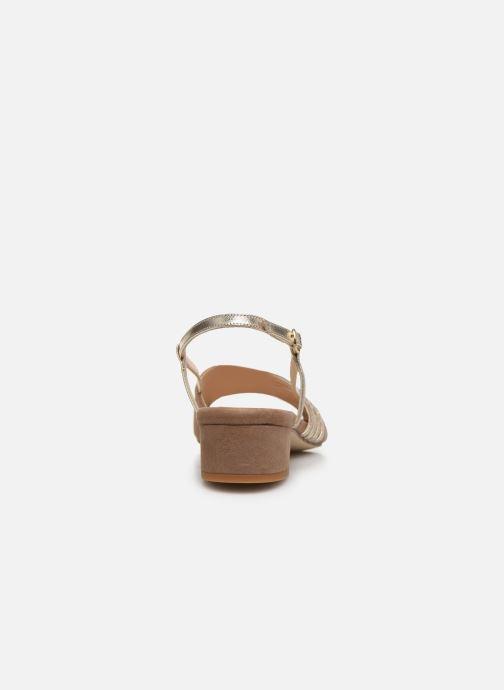 Sandales et nu-pieds Georgia Rose Livila Beige vue droite
