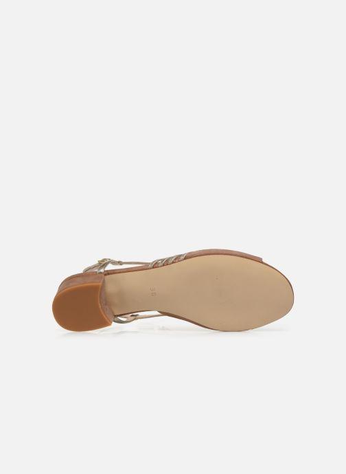 Sandales et nu-pieds Georgia Rose Livila Beige vue haut