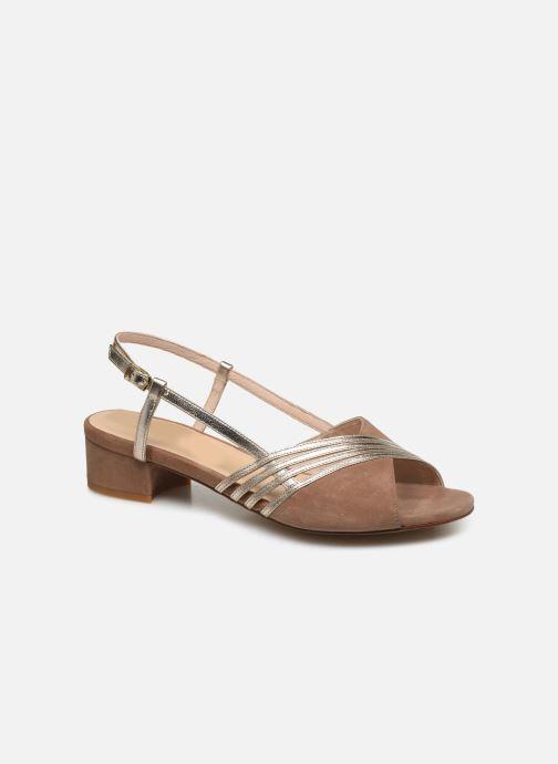 Sandales et nu-pieds Georgia Rose Livila Beige vue détail/paire