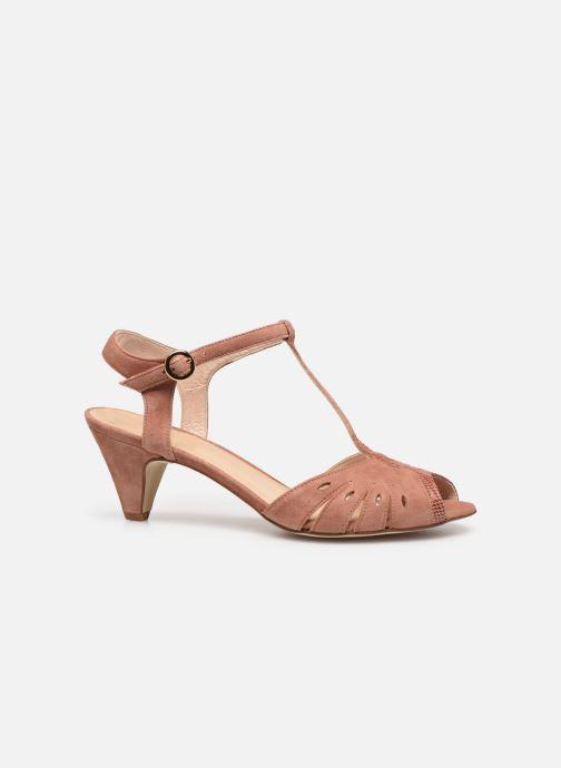 Sandales et nu-pieds Georgia Rose Loustina Rose vue derrière