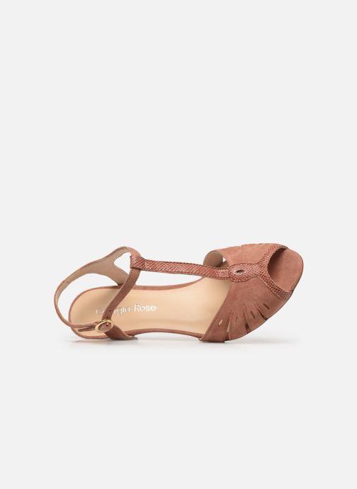 Sandales et nu-pieds Georgia Rose Loustina Rose vue gauche