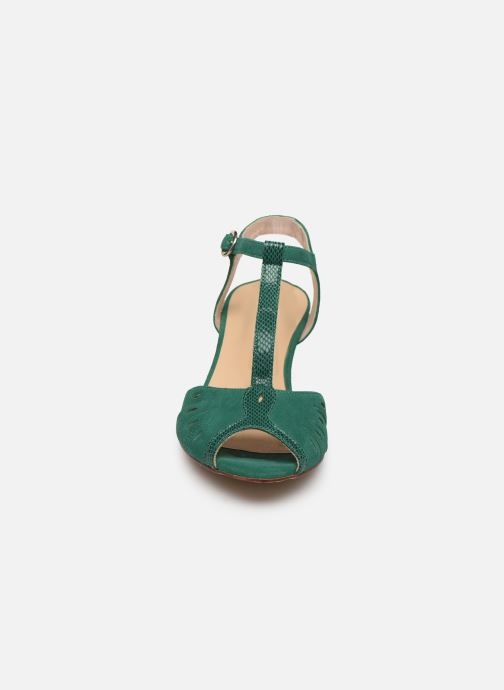Sandales et nu-pieds Georgia Rose Loustina Vert vue portées chaussures