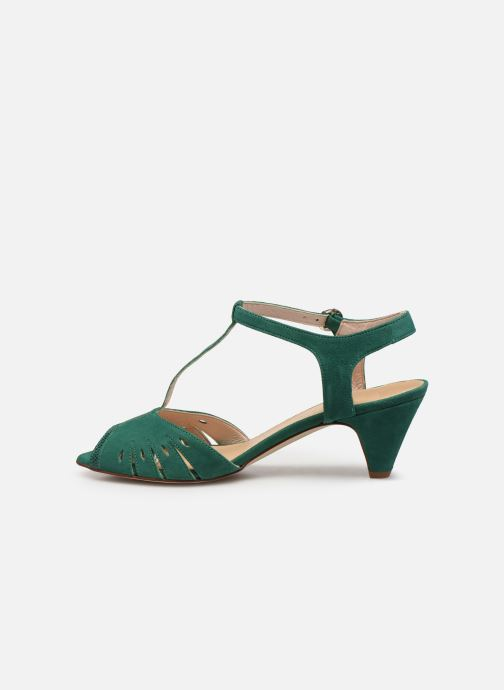Sandales et nu-pieds Georgia Rose Loustina Vert vue face