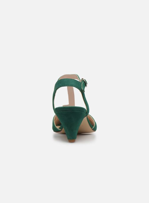 Sandales et nu-pieds Georgia Rose Loustina Vert vue droite