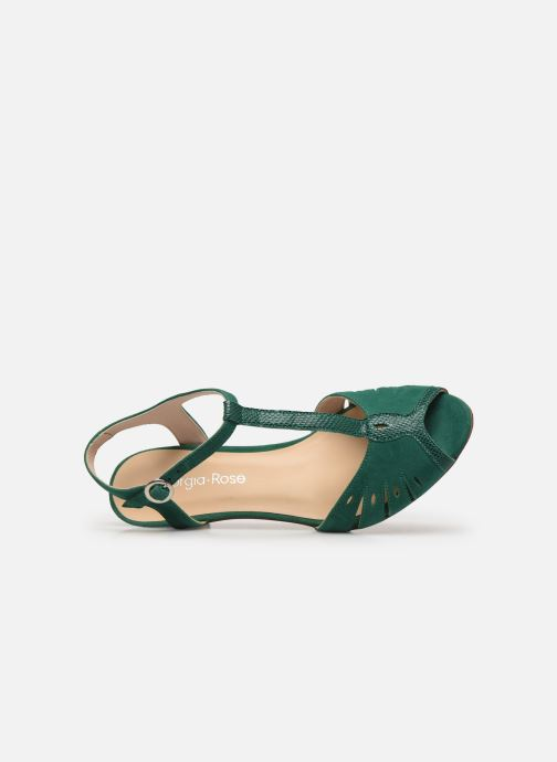Sandales et nu-pieds Georgia Rose Loustina Vert vue gauche