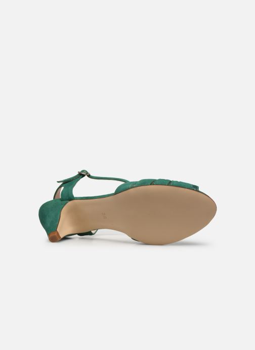 Sandales et nu-pieds Georgia Rose Loustina Vert vue haut