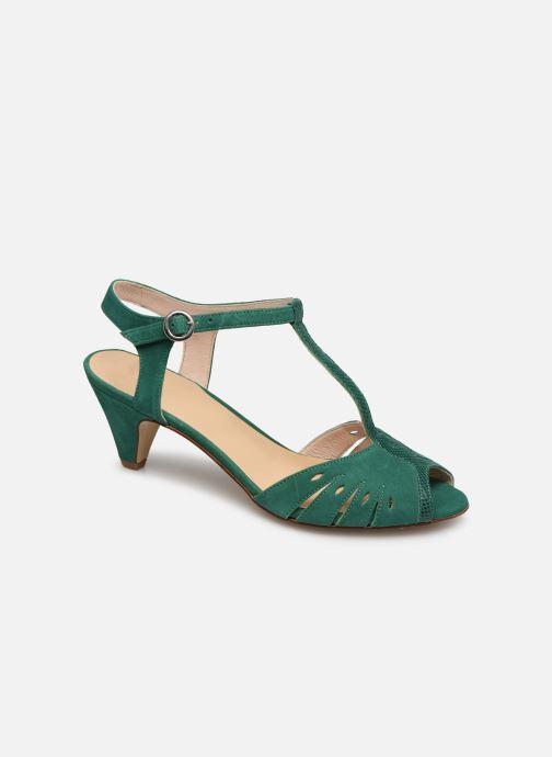 Sandales et nu-pieds Georgia Rose Loustina Vert vue détail/paire