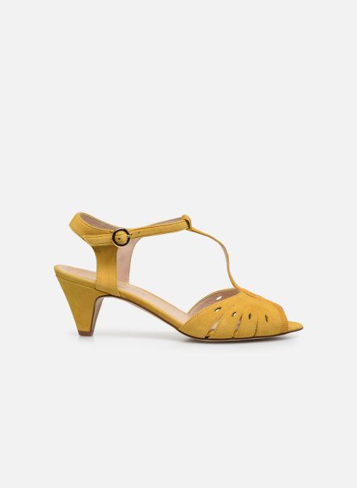 Sandales et nu-pieds Georgia Rose Loustina Jaune vue derrière