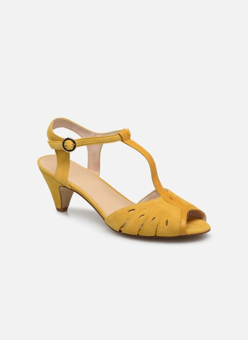 Sandales et nu-pieds Georgia Rose Loustina Jaune vue détail/paire