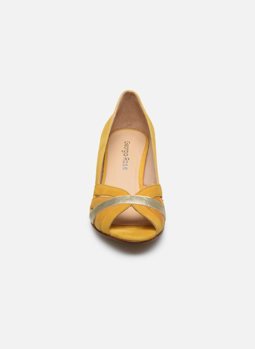 Escarpins Georgia Rose Loupala Jaune vue portées chaussures