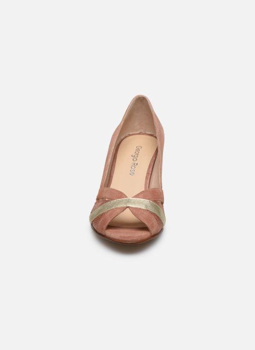 Zapatos de tacón Georgia Rose Loupala Rosa vista del modelo