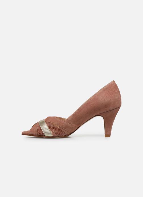 Zapatos de tacón Georgia Rose Loupala Rosa vista de frente