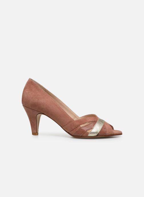 Zapatos de tacón Georgia Rose Loupala Rosa vistra trasera