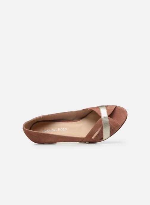Zapatos de tacón Georgia Rose Loupala Rosa vista lateral izquierda