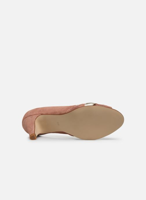 Zapatos de tacón Georgia Rose Loupala Rosa vista de arriba