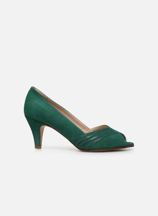 Zapatos de tacón Georgia Rose Lucina Verde vistra trasera