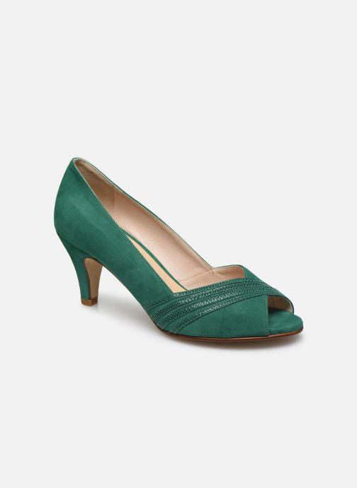 Zapatos de tacón Georgia Rose Lucina Verde vista de detalle / par