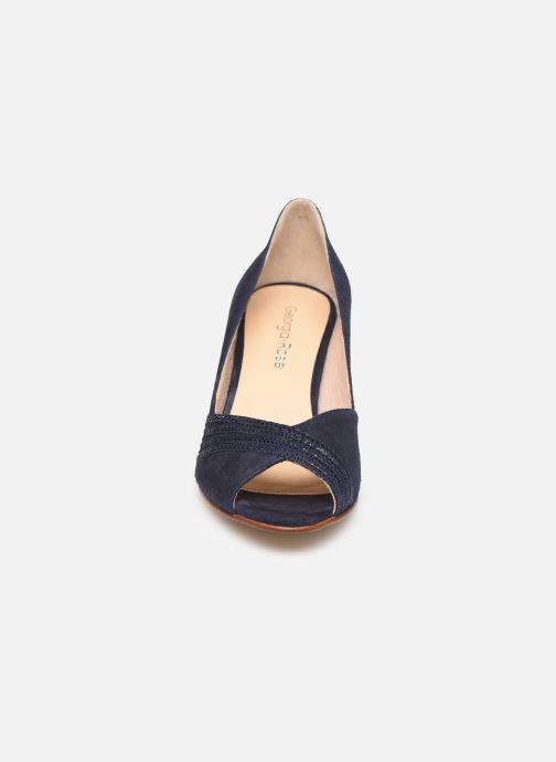 Zapatos de tacón Georgia Rose Lucina Azul vista del modelo