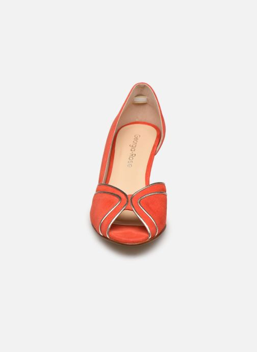 Zapatos de tacón Georgia Rose Lorima Rojo vista del modelo