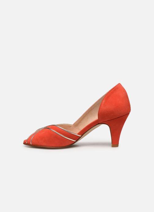 Zapatos de tacón Georgia Rose Lorima Rojo vista de frente