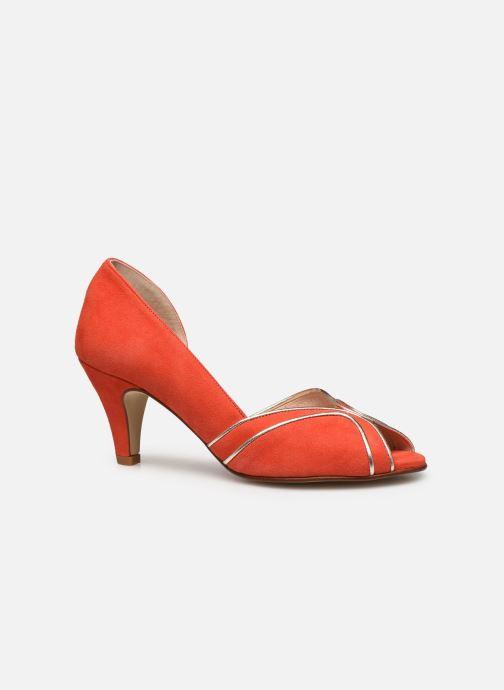 Zapatos de tacón Georgia Rose Lorima Rojo vistra trasera