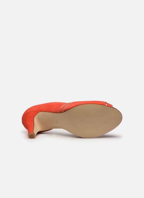 Zapatos de tacón Georgia Rose Lorima Rojo vista de arriba