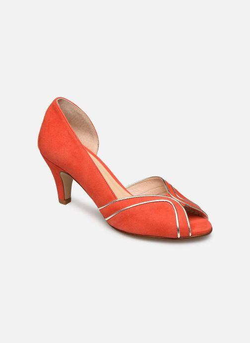 Zapatos de tacón Georgia Rose Lorima Rojo vista de detalle / par