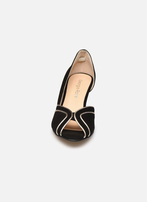 Zapatos de tacón Georgia Rose Lorima Negro vista del modelo