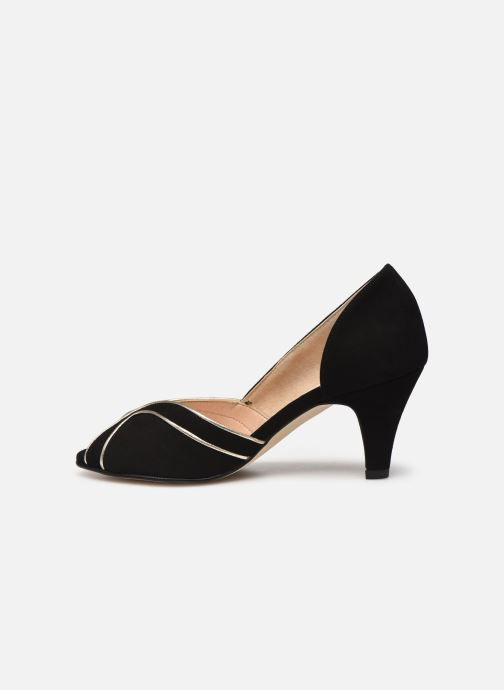 Zapatos de tacón Georgia Rose Lorima Negro vista de frente