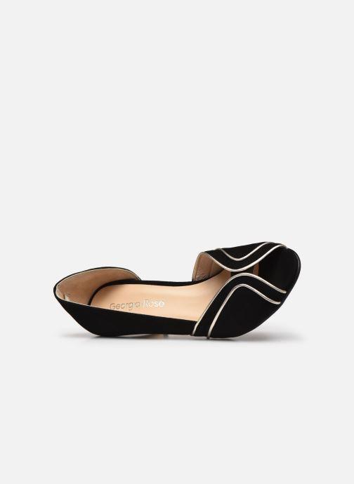 Zapatos de tacón Georgia Rose Lorima Negro vista lateral izquierda