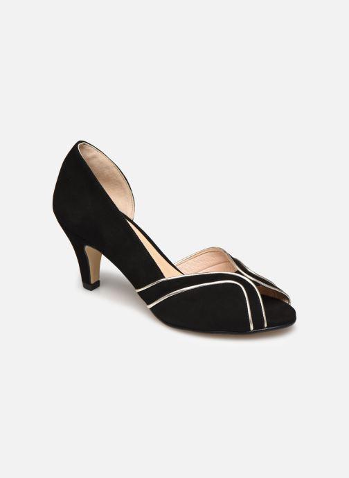 Zapatos de tacón Georgia Rose Lorima Negro vista de detalle / par